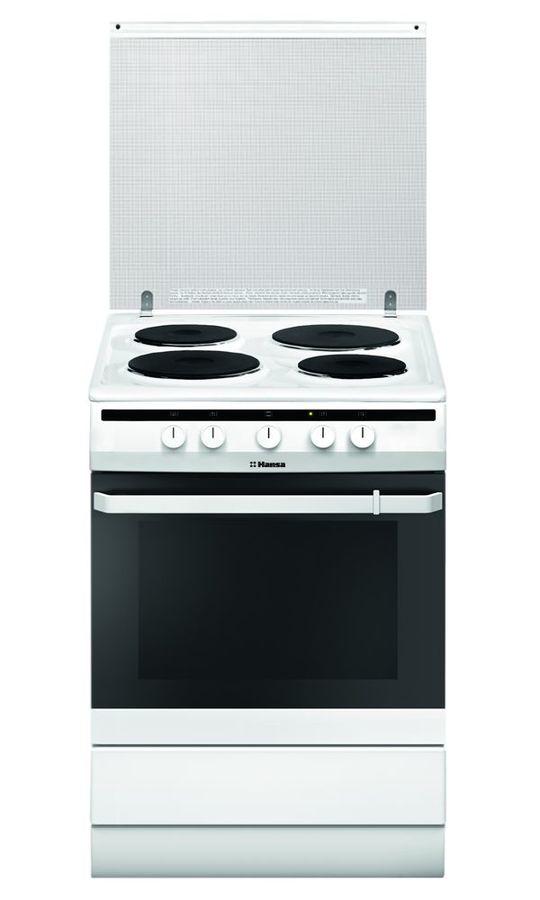 Электрическая плита HANSA FCEW63020,  эмаль,  белый
