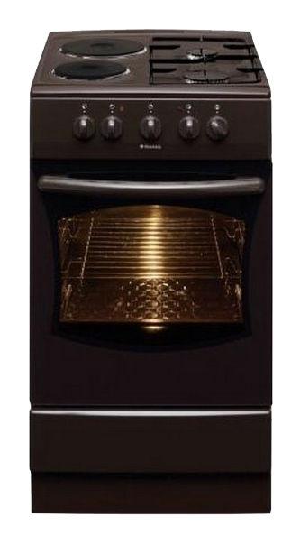 Газовая плита HANSA FCMB53050,  электрическая духовка,  коричневый