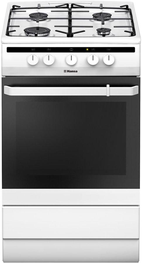 Газовая плита HANSA FCGW51001,  газовая духовка,  белый