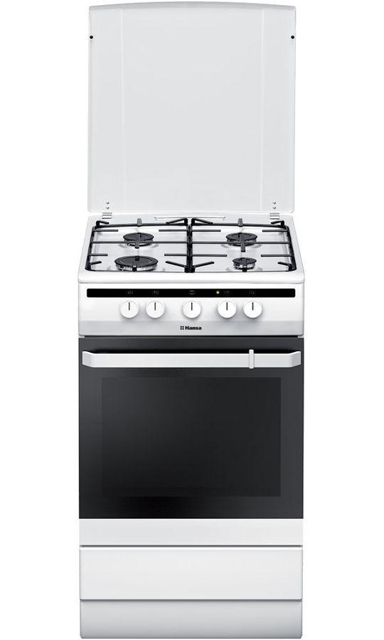 Газовая плита HANSA FCGW51000,  газовая духовка,  белый