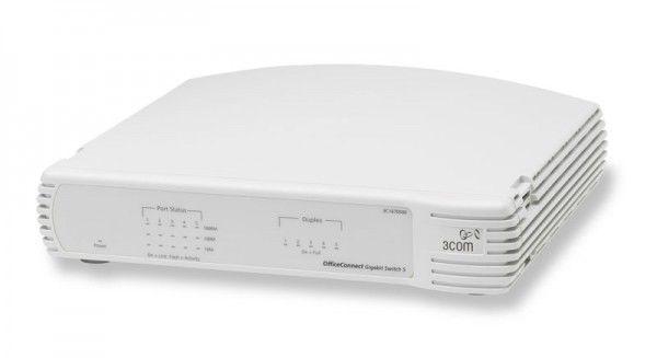 Коммутатор 3COM OfficeConnect Gigabit 5-port (3C1670500B-ME), 3C1670500B-ME