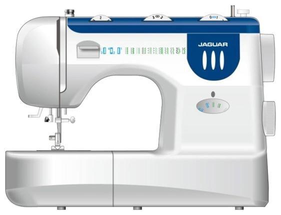 Швейная машина JAGUAR RX-390 белый
