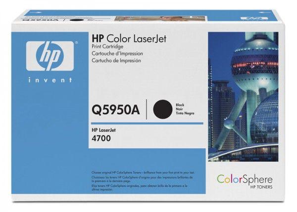 Картридж HP Q5950A черный