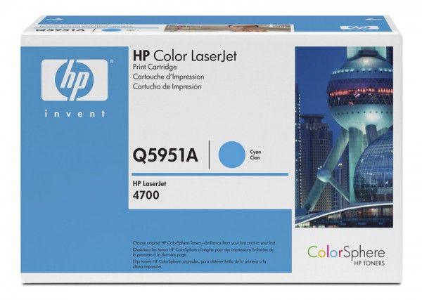 Картридж HP Q5951A голубой