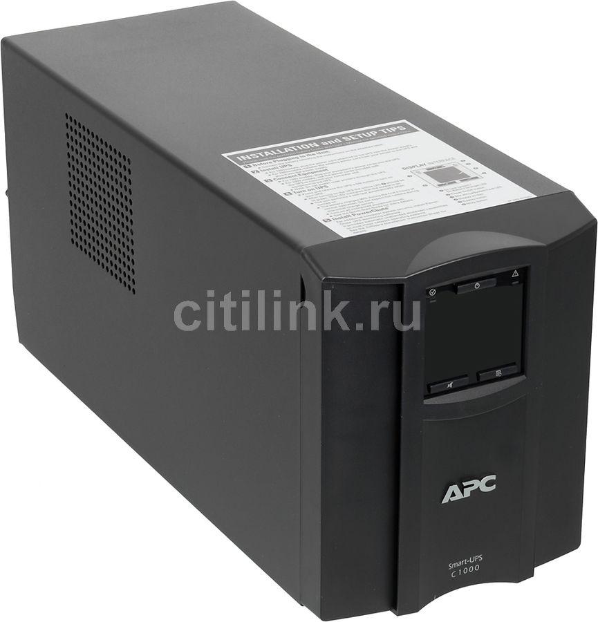Источник бесперебойного питания APC Smart-UPS C SMC1000I,  1000ВA [smc1000i ]
