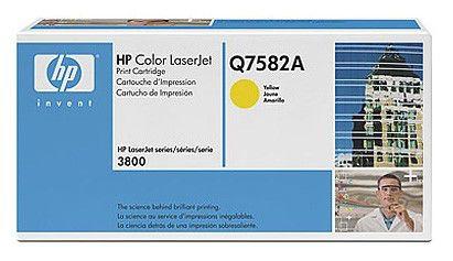Картридж HP Q7582A желтый