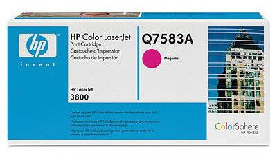 Картридж HP Q7583A пурпурный