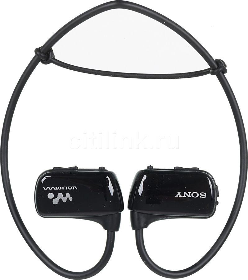 MP3 плеер SONY NWZ-W273 flash 4Гб черный [nwzw273sb.ee]
