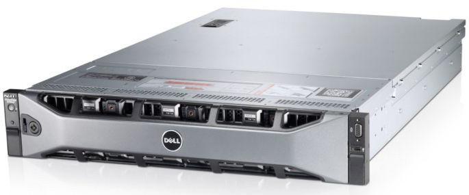 Сервер Dell PE R720xd E5-2609/8Gb 2RLVRD 1.3/ x12+2 SAS 2x300Gb 10K 2.5