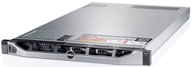 Сервер Dell PE R620 E5-2603/8Gb 2RLVRD 1.3/ x8/RW/H710/iD7En BR5720/750W/3YPNBD/1U/No OS (210-39504)
