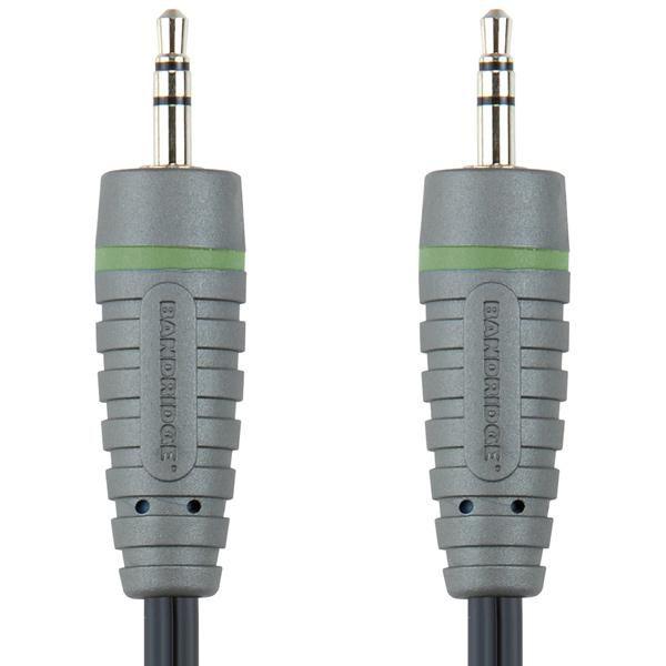 Кабель аудио BANDRIDGE BAL3302,  Jack 3.5 (m)  -  Jack 3.5 (m) ,  2м