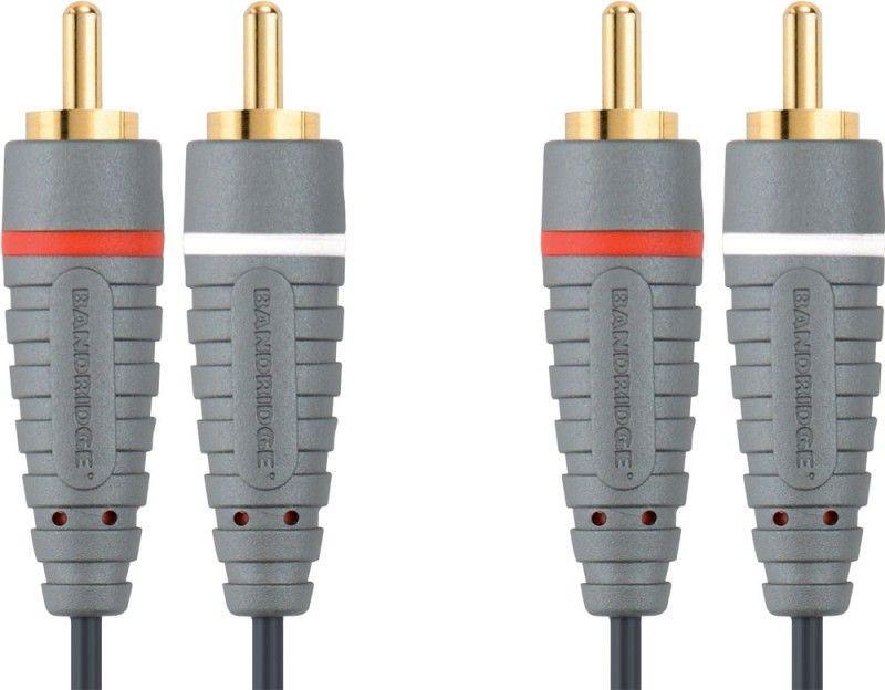 Кабель аудио BANDRIDGE BAL4200,  2хRCA (m)  -  2хRCA (m) ,  0.5м