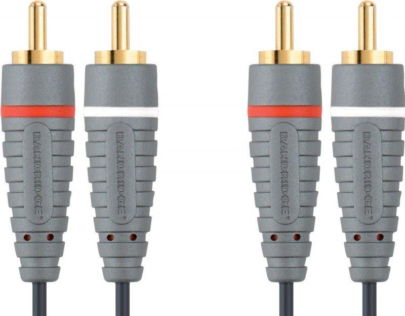 Кабель аудио BANDRIDGE BAL4205,  2хRCA (m)  -  2хRCA (m) ,  5м