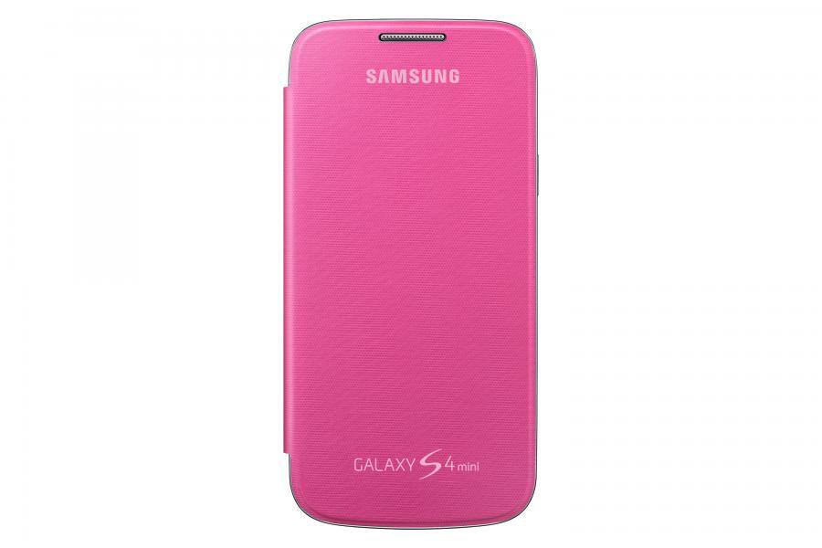 Чехол (флип-кейс) SAMSUNG EF-FI919BPEGRU, для Samsung Galaxy S4 mini, розовый