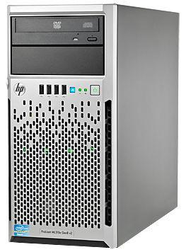 Сервер HP PL ML310eG8 E3-1220V2/2Gb 1.6/ SATA 500Gb LFF/RW/P222/512/350W/1-1-1/GO/4U (686144-425)