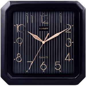 Настенные часы SCARLETT SC-52CB, аналоговые