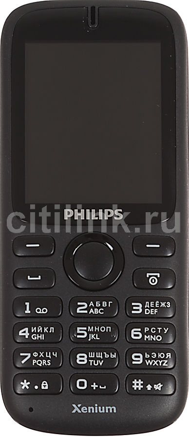 Мобильный телефон PHILIPS Xenium X1510,  черный