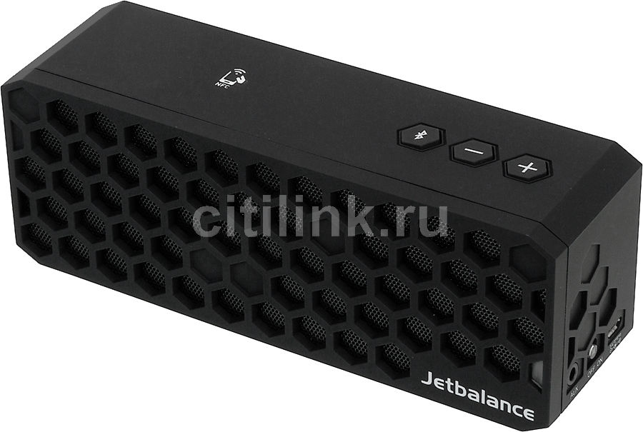JETBALANCE BEE-BOX,  6Вт, черный  [bee-box nfc black]