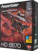 Видеокарта POWERCOLOR Radeon HD 6670,  2Гб, DDR3, Ret [ax6670 2gbk3-he  ] вид 6
