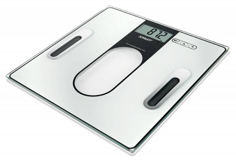 Напольные весы SCARLETT SC212, до 150кг, цвет: черный