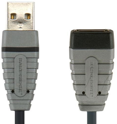 Кабель-удлинитель USB BANDRIDGE BCL4305,  USB A (m) -  USB A (f),  4.5м