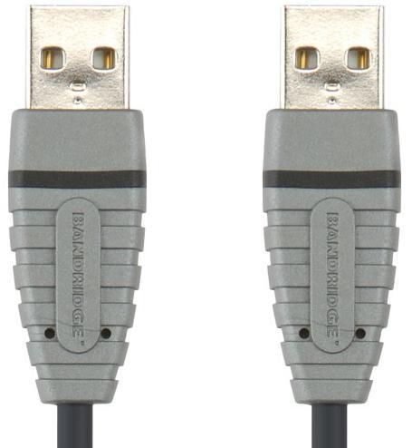 Кабель USB BANDRIDGE BCL4802,  USB A (m) -  USB A (m),  2м