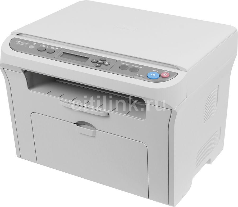 МФУ PANTUM M6000,  A4,  лазерный,  серый [p-m6000-wh]