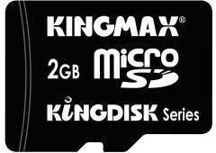 Карта памяти microSD KINGMAX Kingdisk 2 ГБ, PIP