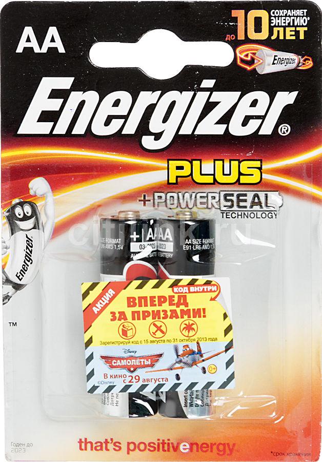 Батарея ENERGIZER Plus LR6/E91 FSB2,  2 шт. AA