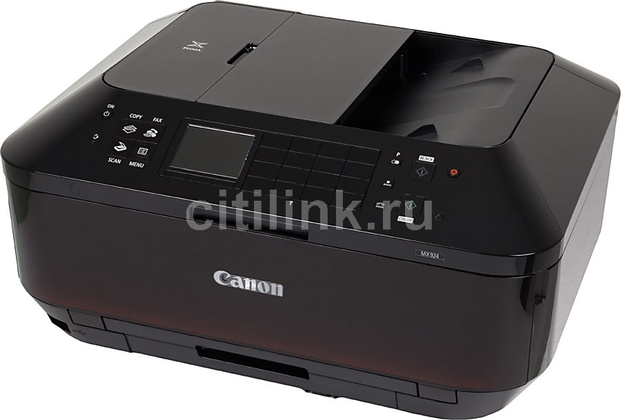 МФУ струйный CANON PIXMA MX924, A4, цветной, струйный, черный [6992b007]