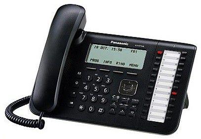 IP телефон PANASONIC KX-NT546RU-B