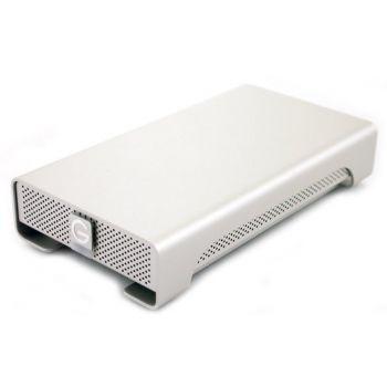 Внешний жесткий диск WD G-Drive Original, 2Тб, серебристый [0g02530]