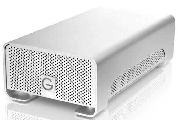 Внешний жесткий диск WD G-Raid G-Tech with Thunderbolt, 4Тб, серебристый [0g02290]
