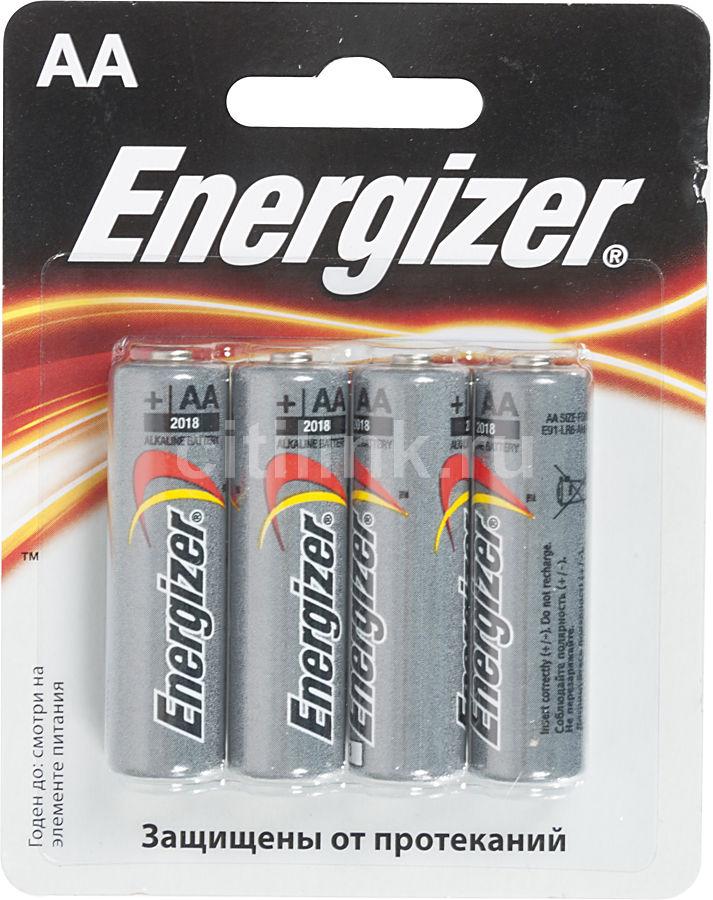 Батарея ENERGIZER Standart FSB4,  4 шт. AA