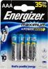 Батарея ENERGIZER Maximum LR03/E92 FSB4,  4 шт. AAA вид 1