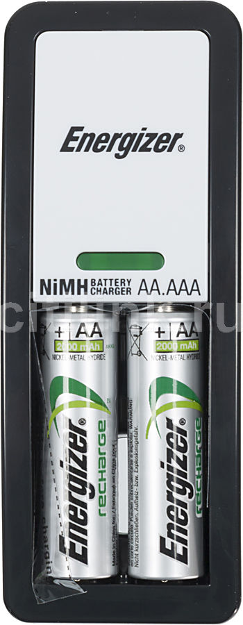 Аккумулятор + зарядное устройство ENERGIZER Mini,  2 шт. AA,  2000мAч