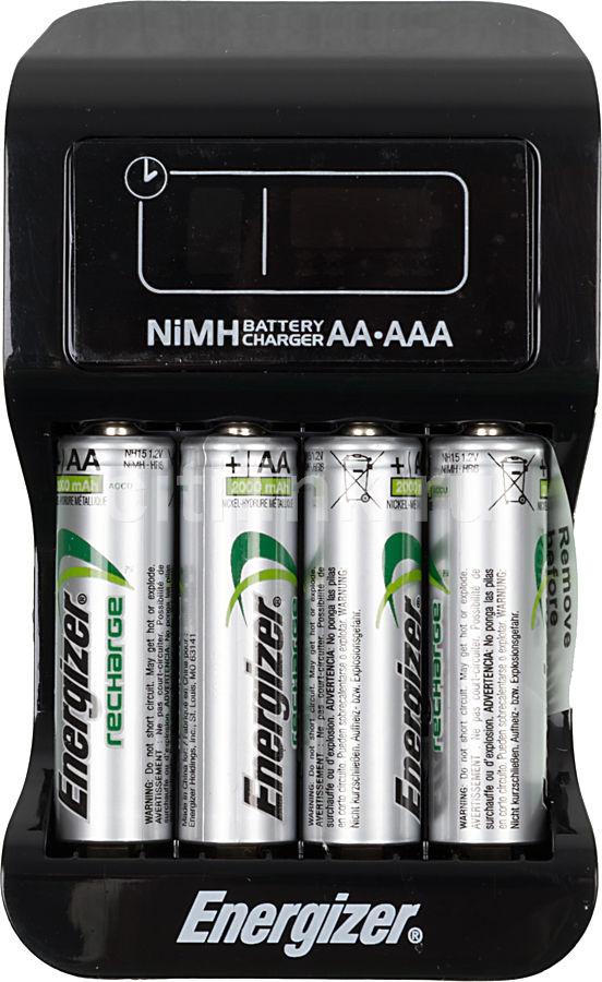 Аккумулятор + зарядное устройство ENERGIZER Intelligent,  4 шт. AA,  2000мAч