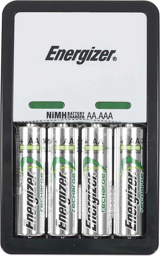Аккумулятор + зарядное устройство ENERGIZER Maxi,  4 шт. AA,  2300мAч