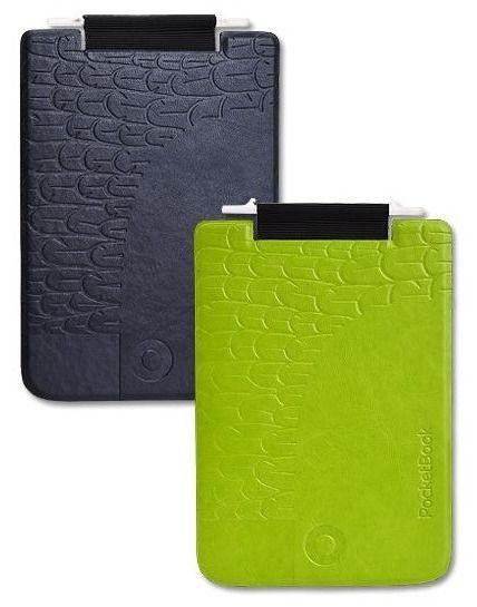 Обложка POCKETBOOK PBPUC-5-GRBC-BD, черный/ зеленый