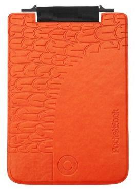 Обложка POCKETBOOK PBPUC-5-BCOR-BD, черный/ оранжевый