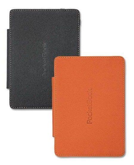 Обложка POCKETBOOK PBPUC-5-GYOR-2S, серый/ оранжевый
