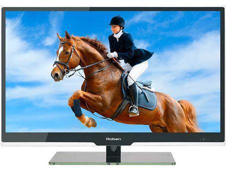 """LED телевизор ROLSEN RL-39E1301GF  """"R"""", 39"""", FULL HD (1080p),  черный"""