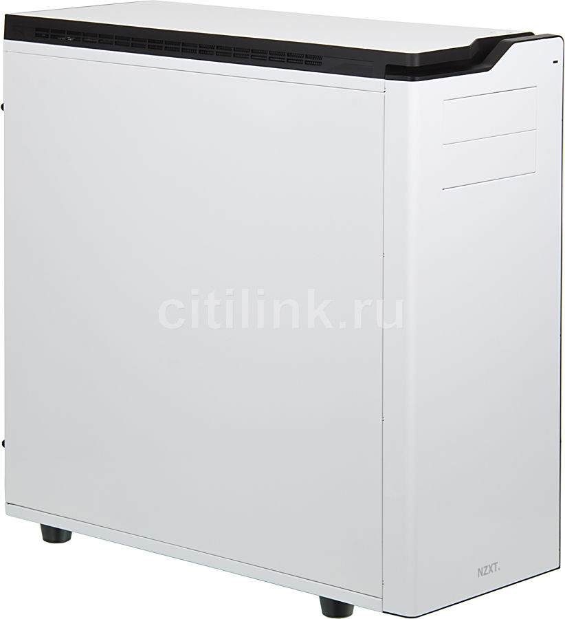 Корпус E-ATX NZXT H630, Full-Tower, без БП,  белый