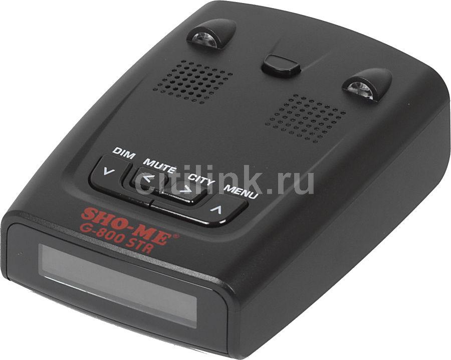 Радар-детектор SHO-ME G-800 blue,  черный