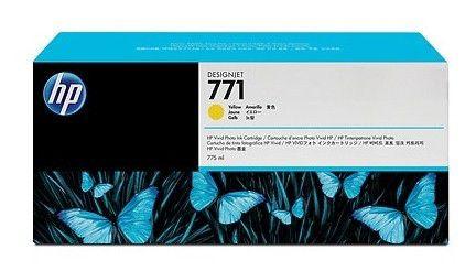 Тройная упаковка картриджей HP 771C B6Y34A,  желтый