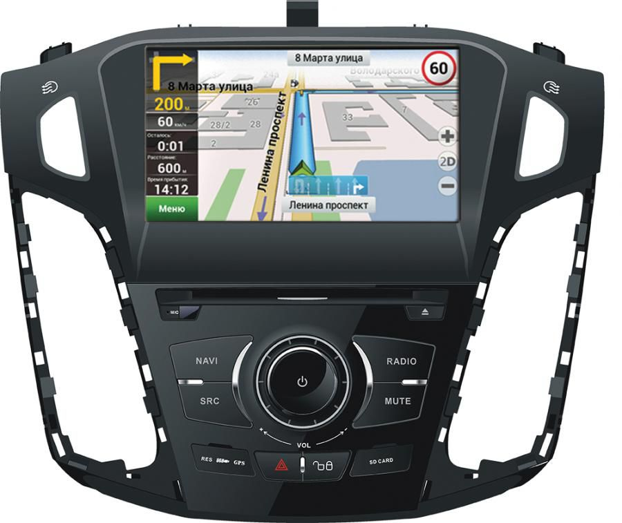 Автомагнитола VELAS V-FFG,  Ford Focus III,  USB,  SD