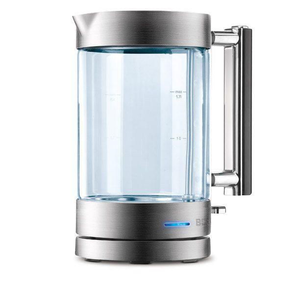 Чайник электрический BORK K400, 2400Вт, серебристый