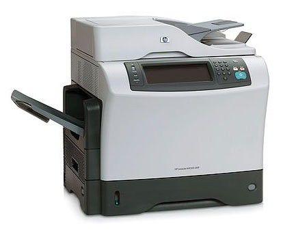 МФУ HP LaserJet M4345,  A4,  лазерный,  белый [cb425a]