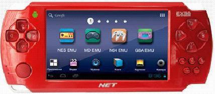 Игровая консоль  Exeq Net, красный