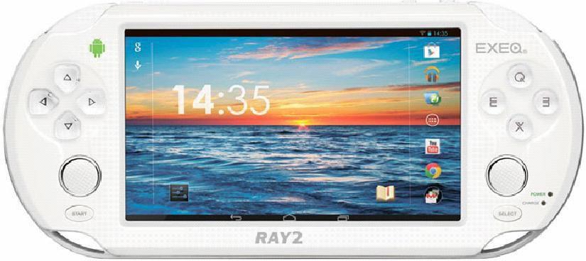Игровая консоль  Exeq Ray-2, белый